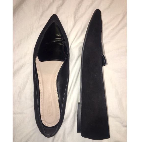 ASOS Shoes | Asos Black Pointed Loafers